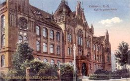 Kattowitz, Königliche Baugewerk-Schule