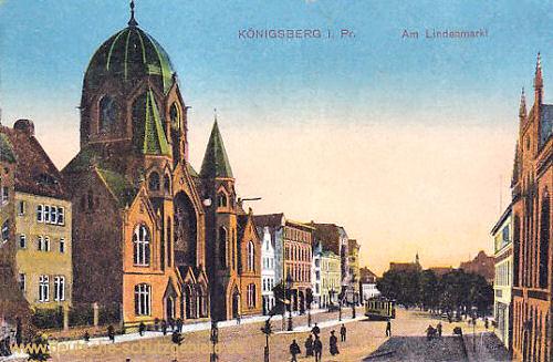 Königsberg i. Pr., Am Lindenmarkt (Synagoge)