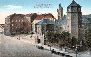 Königsberg i. Pr., Königliches Schloss Hauptwache