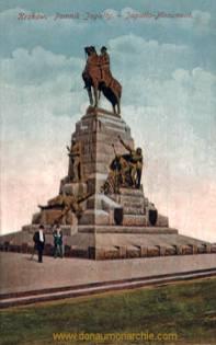 Krakau, Jagiello-Monument