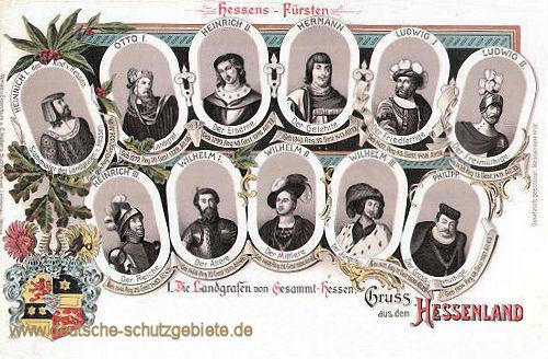 Landgrafen von Gesamt-Hessen