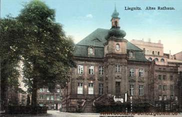 Liegnitz, Altes Rathaus (Städtische Sparkasse)