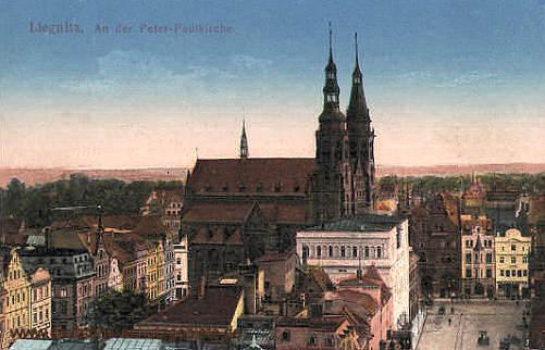 Liegnitz, An der Peter Paulkirche