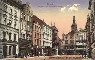 Liegnitz, Ringpartie mit Hindenburg-Kaffee