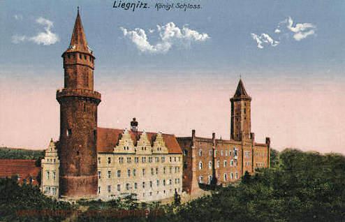 Liegnitz, Königliches Schloss