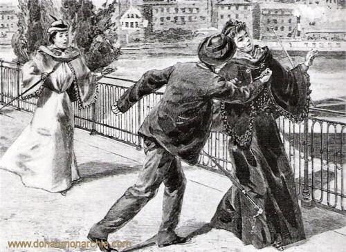 Luigi Lucheni ermordet Kaiserin Elisabeth 1898 in Genf