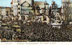 Östlicher Kriegsschauplatz: Der Kaiser in Lyck