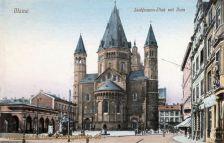 Mainz, Liebfrauen-Platz mit Dom