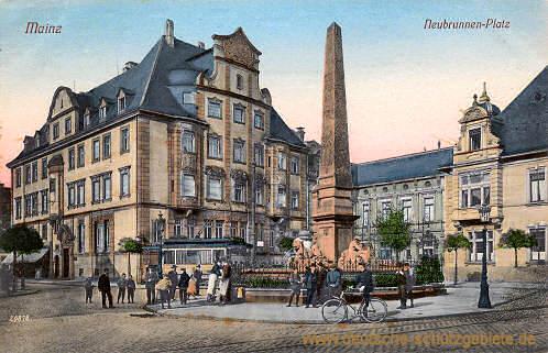 Mainz, Neubrunnen-Platz