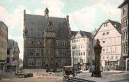 Marburg a. d. Lahn, Markt und Rathaus