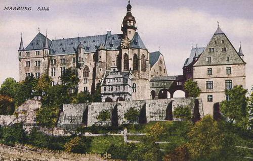 Marburg a. d. Lahn, Schloss
