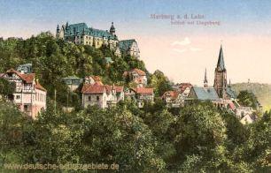 Marburg a. d. Lahn, Schloss mit Umgebung