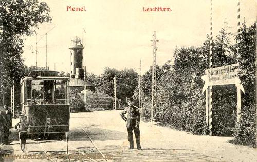 Memel, Leuchtturm