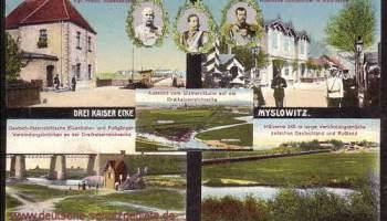 Myslowitz, Drei-Kaiser-Ecke