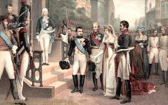 Napoleon und Königin Luise in Tilsit 1807