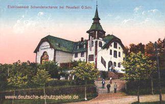 Etablissement Schwedenschanze bei Neustadt, Oberschlesien