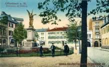 Offenbach a. M., Alicenplatz mit Rathaus