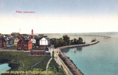 Pillau, Hafeneinfahrt