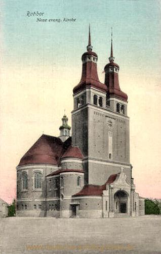 Ratibor, Neue evangelische Kirche