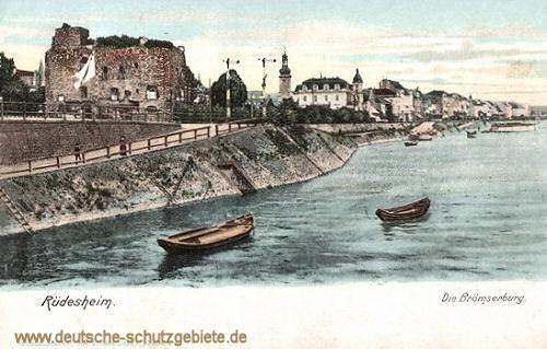 Rüdesheim am Rhein, Die Brömserburg