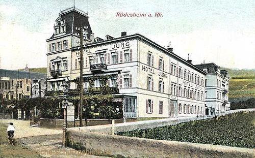 Rüdesheim am Rhein, Hotel Jung