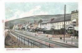 Rüdesheim am Rhein vom Adlerturm
