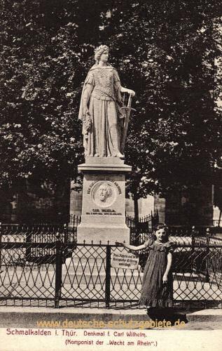 Schmalkalden, Denkmal Carl Wilhelm (Wacht am Rhein)