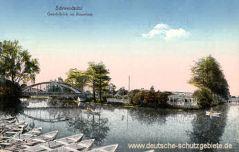 Schweidnitz, Gondelteich im Rosarium