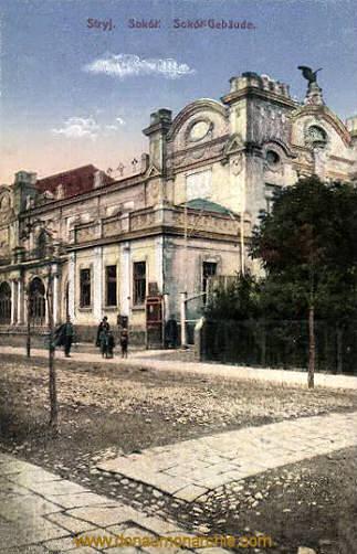 Stryj, Sokol-Gebäude
