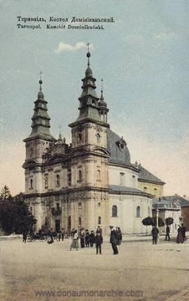 Tarnopol, Kościół Dominikański