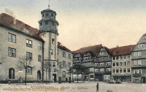 Witzenhausen, Markt und Rathaus