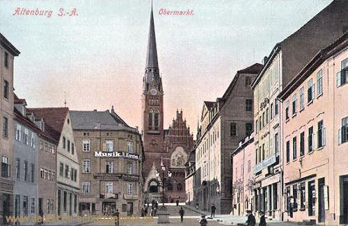Altenburg S. A., Obermarkt