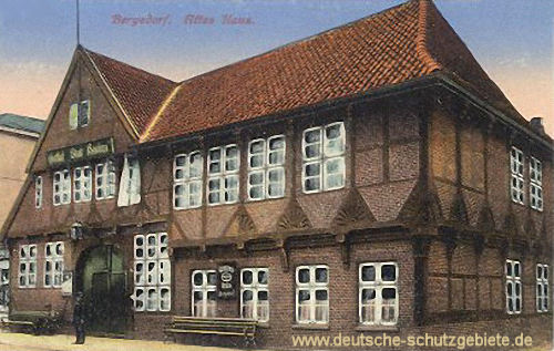 Bergedorf, Altes Haus