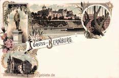 Bernburg, Bismarckdenkmal, Bärenzwinger
