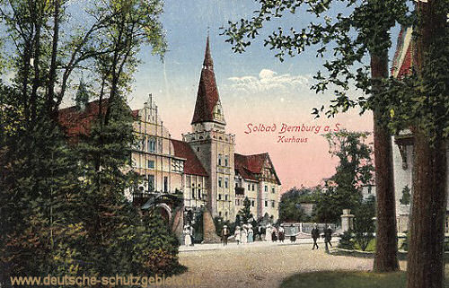 Bernburg, Kurhaus