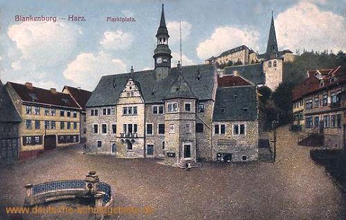 Blankenburg Harz, Marktplatz