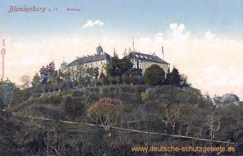 Blankenburg am Harz, Schloss