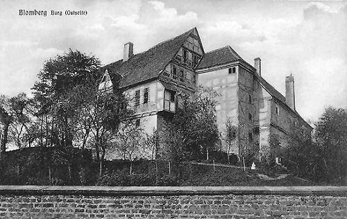 Blomberg, Burg (Ostseite)