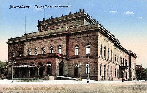 Braunschweig, Herzogliches Hoftheater