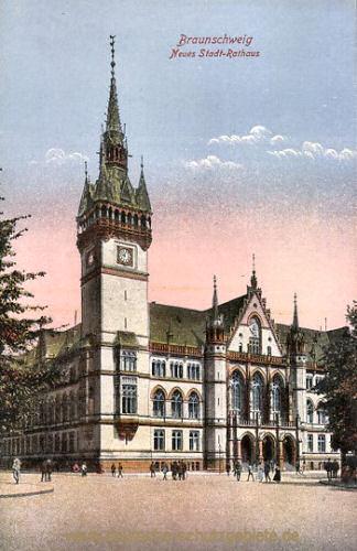 Braunschweig, Neues Stadt-Rathaus
