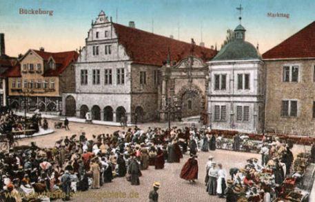 Bückeburg, Markttag