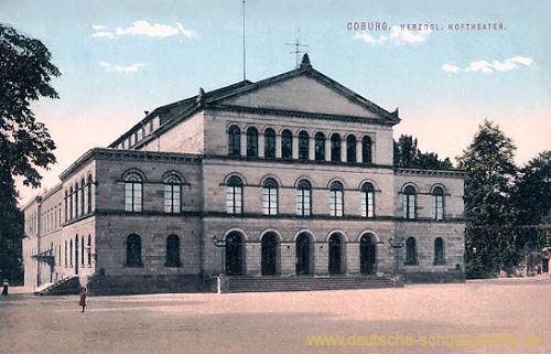 Coburg, Herzogliches Hoftheater