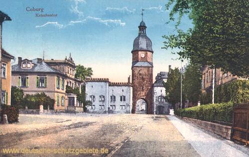 Coburg, Ketschentor