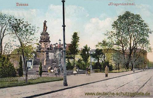Dessau, Kriegerdenkmal