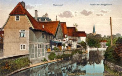 Detmold, Burggraben