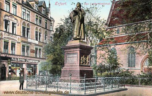 Erfurt, Lutherdenkmal