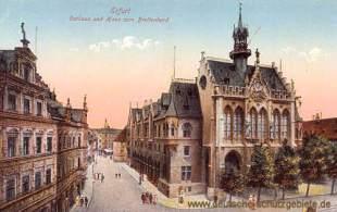Erfurt, Rathaus und Haus zum Breitenherd
