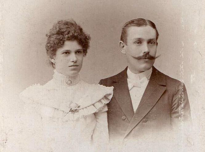 Ernst und Helene Jacobs, 1900