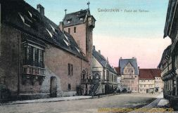 Gandersheim, Partie am Rathaus