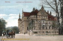 Gnesen, Landratsamt und Kreisständehaus